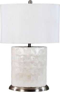 Cindy Crawford Home Shell Lamp