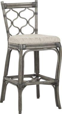 Cindy Crawford Home Shorecrest Gray Barstool