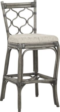 Cindy Crawford Home Shorecrest Gray Barstool