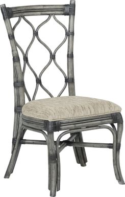 Cindy Crawford Home Shorecrest Gray Side Chair