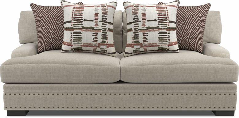 Cindy Crawford Home Tribeca Loft Beige Apartment Sofa