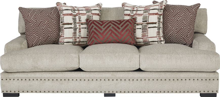 Cindy Crawford Home Tribeca Loft Beige Sofa