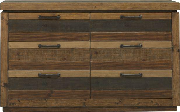 Cindy Crawford Home Westover Hills Brown Dresser