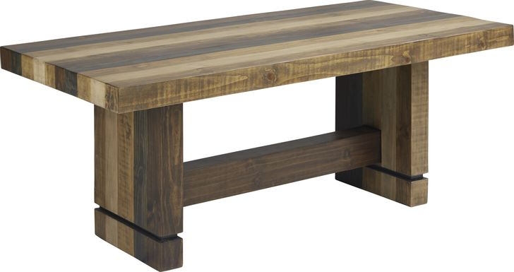 Cindy Crawford Home Westover Hills Brown Rectangle Table