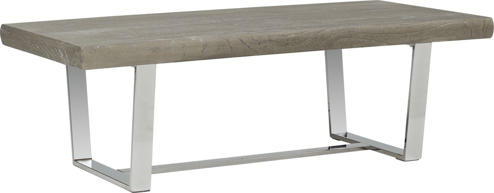 Cindy Crawford San Francisco Gray Cocktail Table