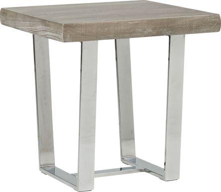 San Francisco Gray End Table