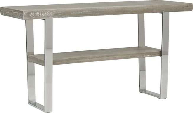 Cindy Crawford San Francisco Gray Sofa Table
