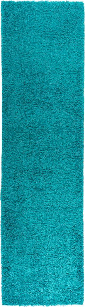 Cinthia Turquoise 2' x 7'2 Runner Rug