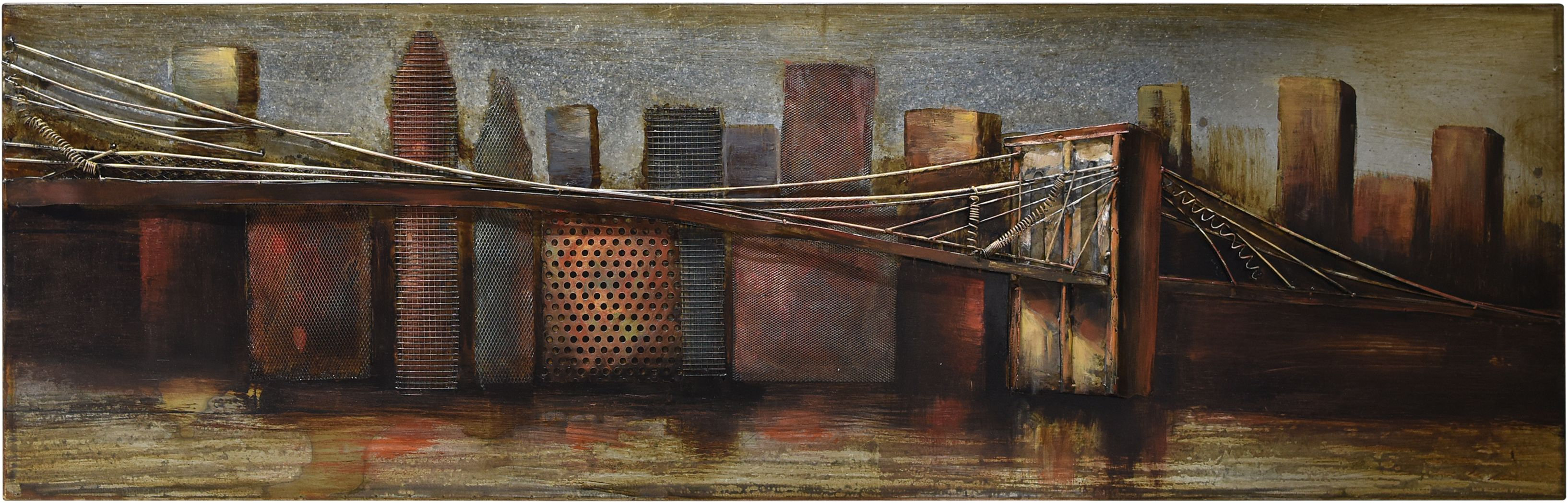 City Bridge Wall Decor