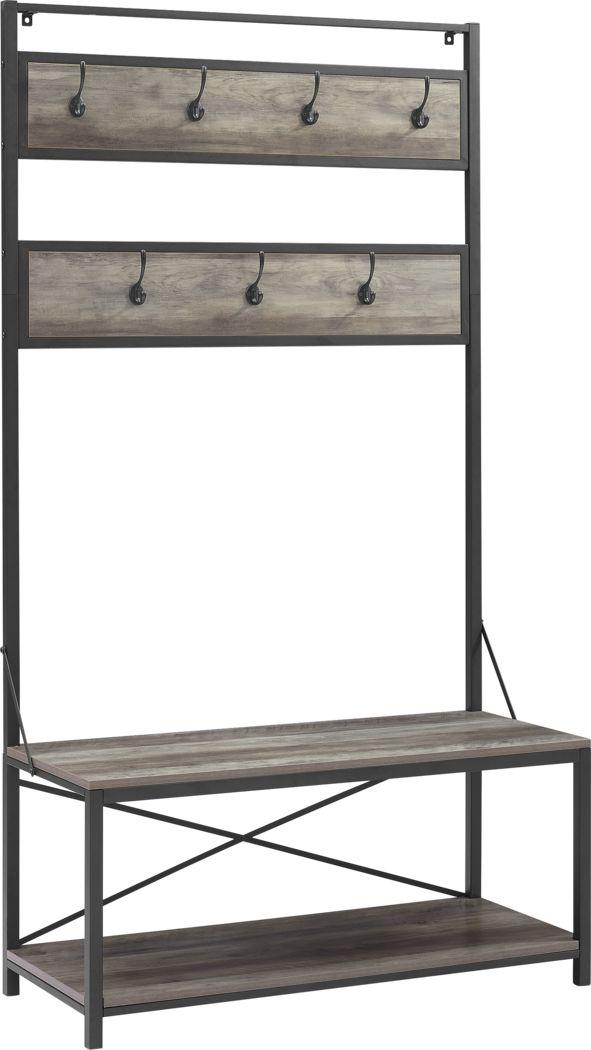 Civray Gray Bench