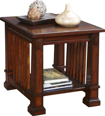 Clairfield Tobacco End Table