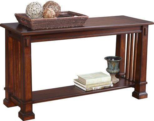 Clairfield Tobacco Sofa Table
