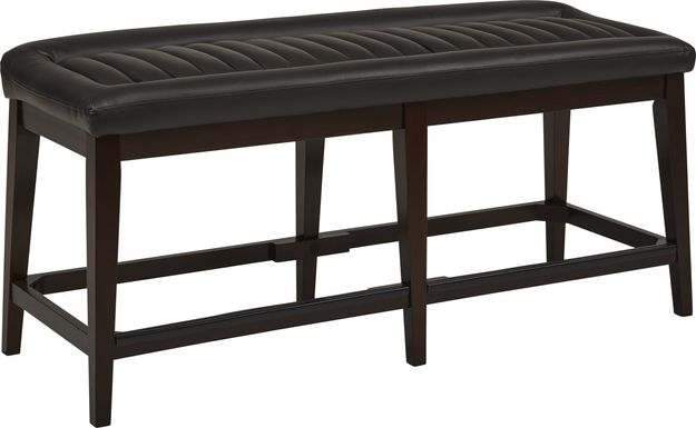 Clairmont Heights Black Counter Height Bench