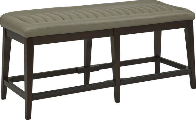 Clairmont Heights Gray Counter Height Bench