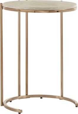 Clairview Gold Side Table