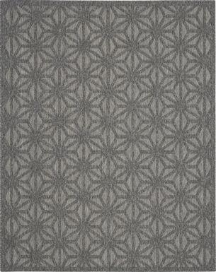 Clarene Dark Gray 8' x 10' Indoor/Outdoor Rug
