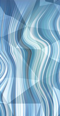 Clariss I Blue Artwork