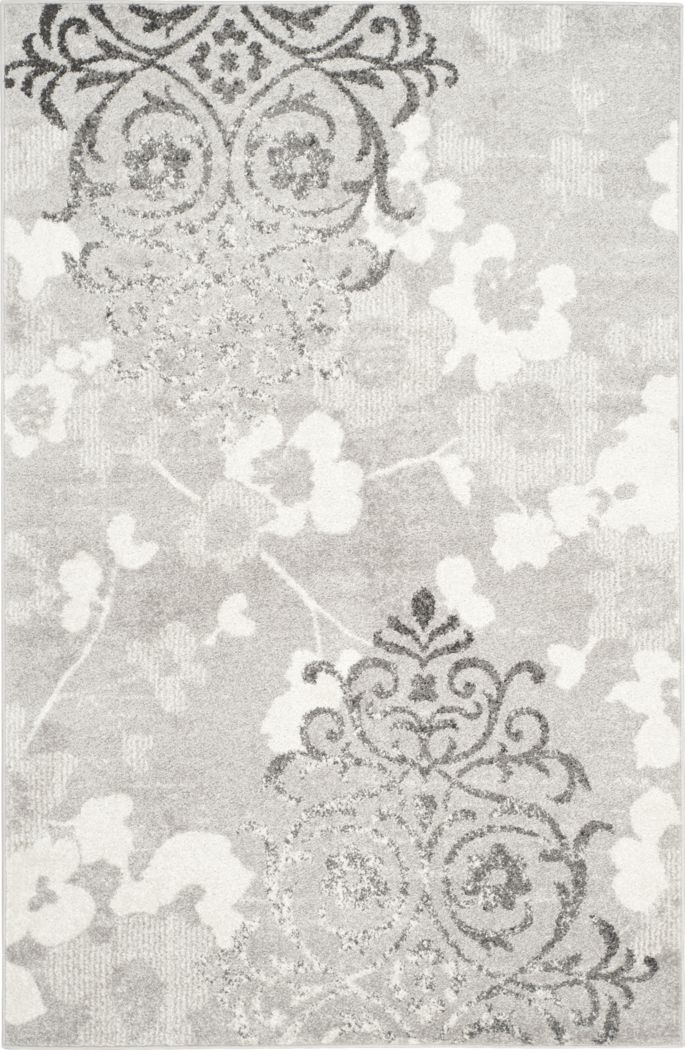 Clarisse Silver 5' x 8' Rug