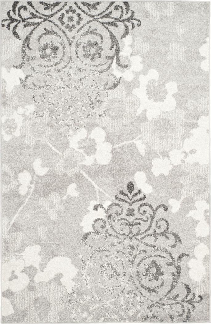 Clarisse Silver 6' x 9' Rug