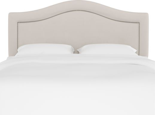 Classical Notes Platinum Queen Upholstered Headboard