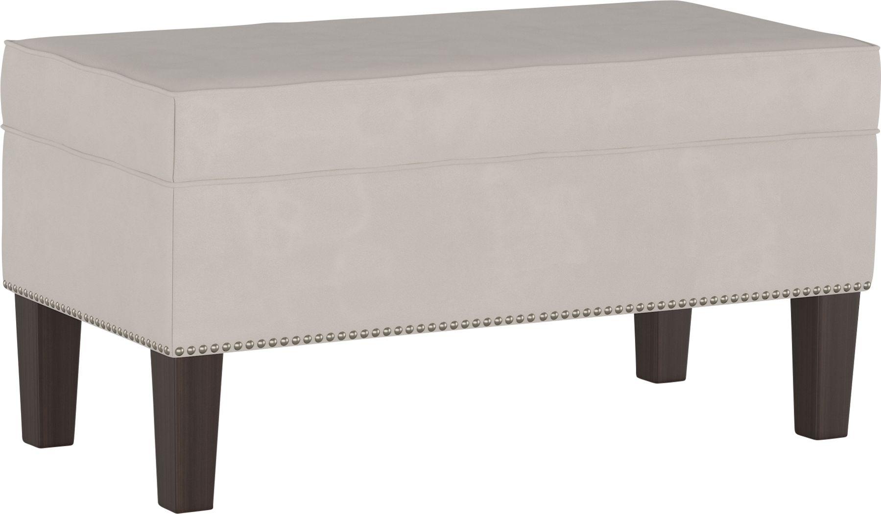 Classical Notes Platinum Storage Bench