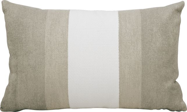 Madura Taupe Indoor/Outdoor Accent Pillow