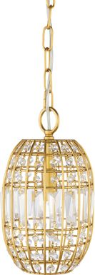 Clement Cove Gold Pendant