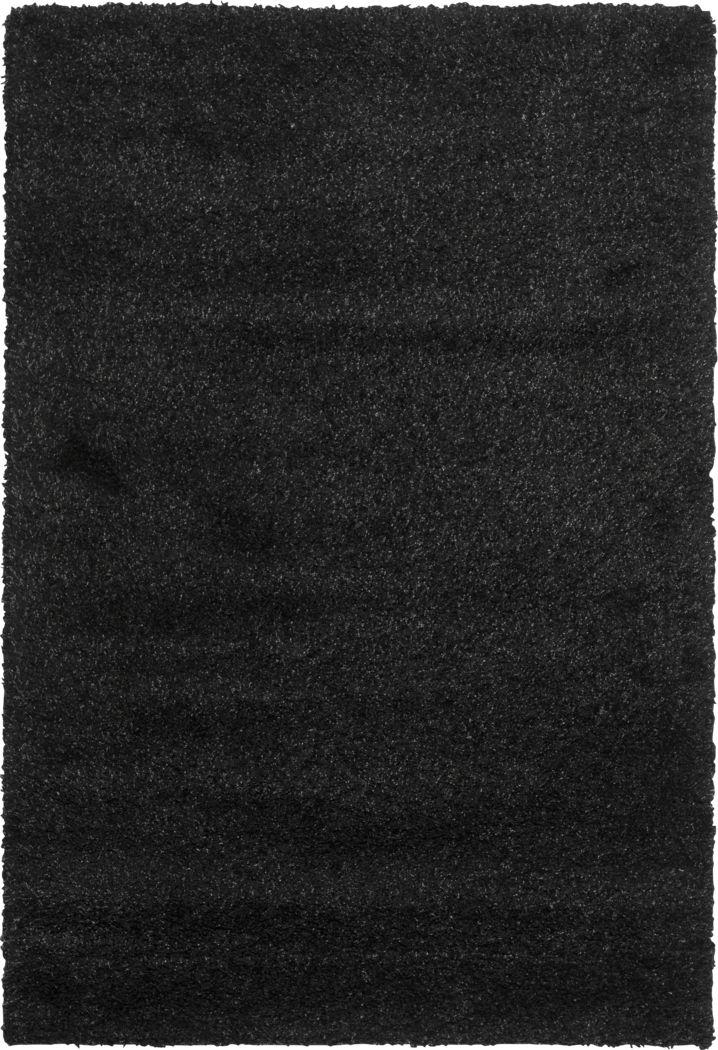 Cleona Black 4' x 6' Rug