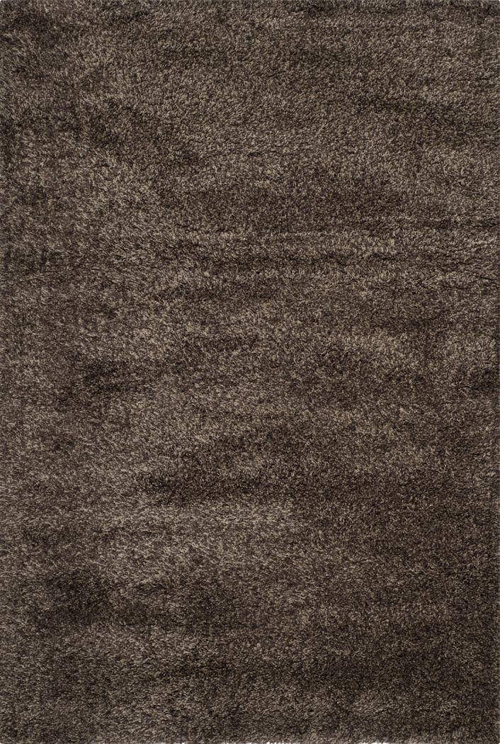 Cleona Dark Brown 4' x 6' Rug