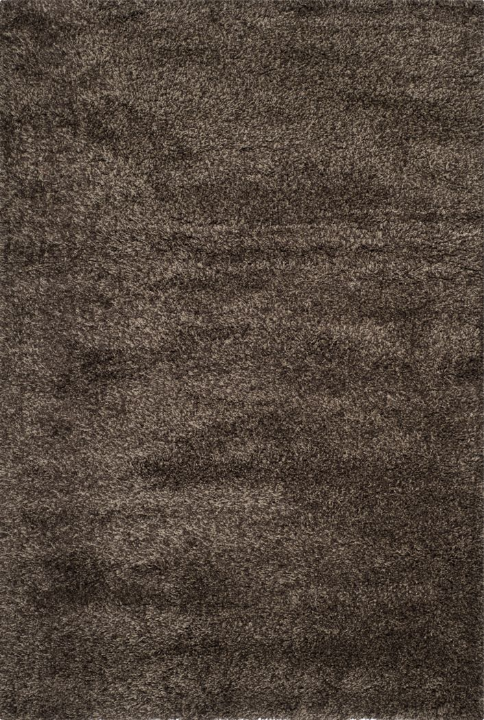 Cleona Dark Brown 5'3 x 7'6 Rug