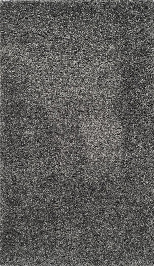 Cleona Dark Gray 5'3 x 7'6 Rug