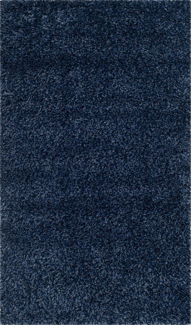 Cleona Navy 3' x 5' Rug