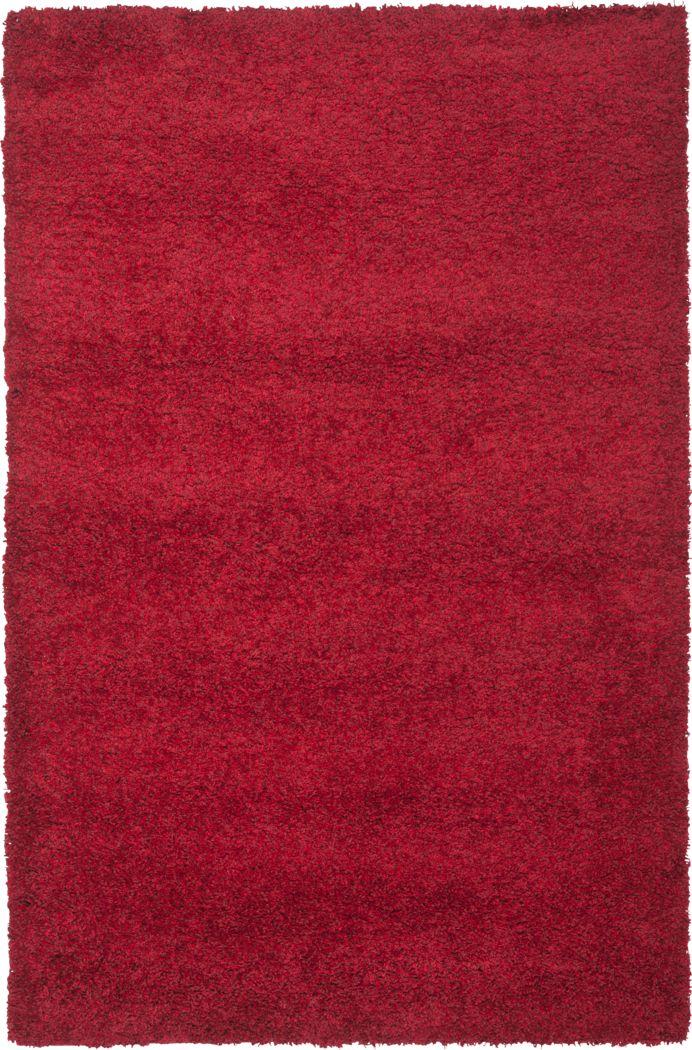 Cleona Red 4' x 6' Rug