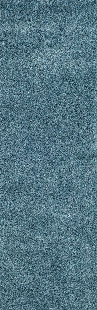 Cleona Turquoise 2' x 7' Runner Rug
