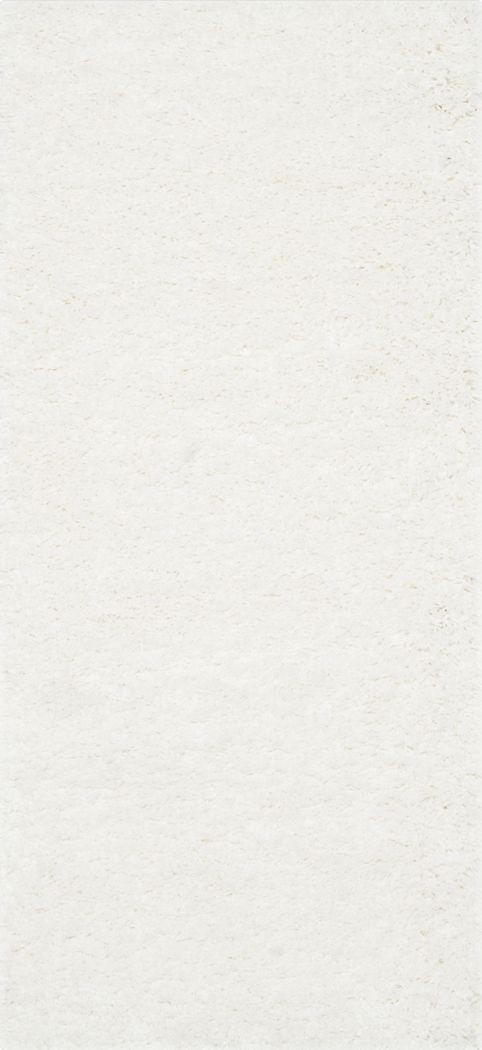 Cleona White 2' x 7' Runner Rug