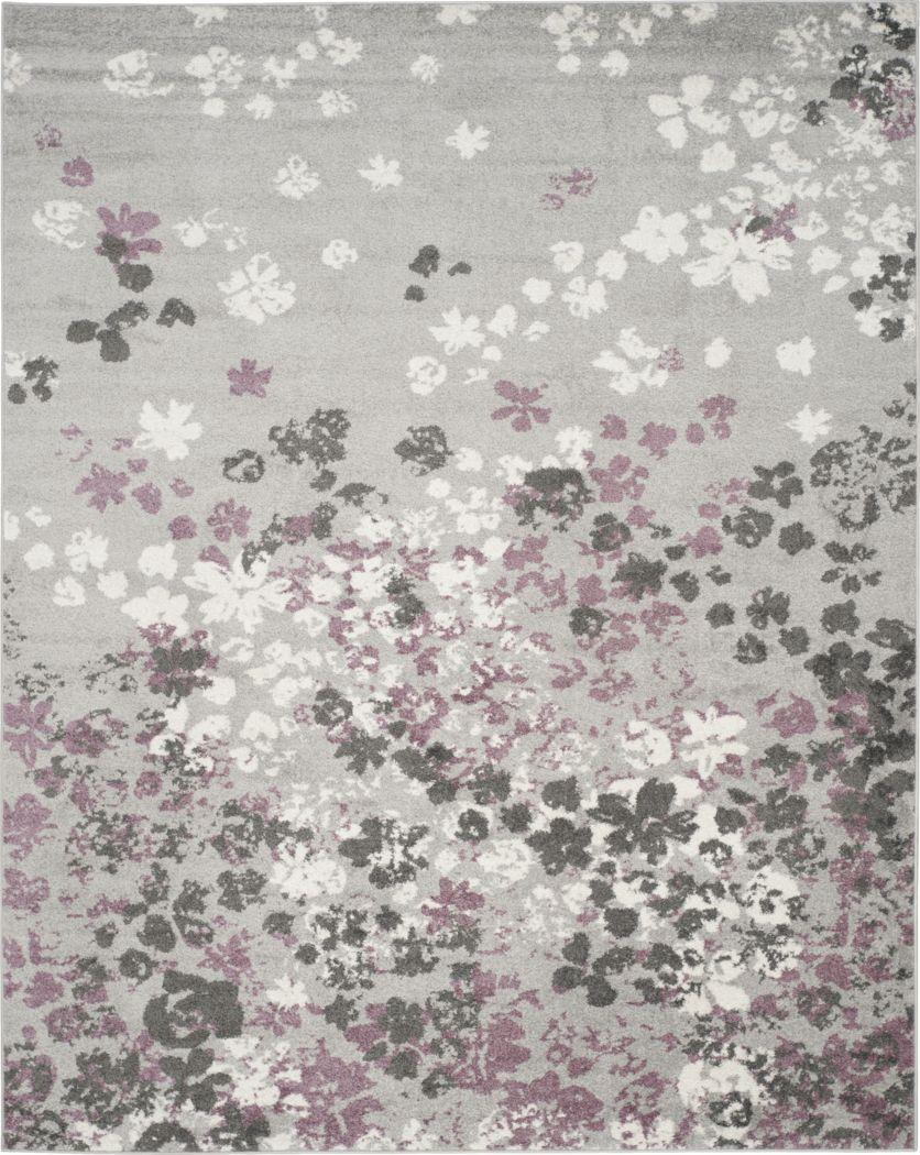 Cleora Light Gray 8' x 10' Rug