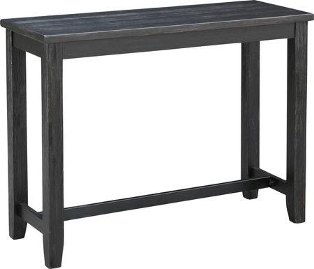 Cletus Black Console Table