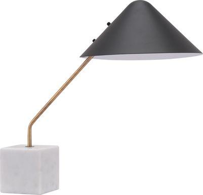 Cliff Point Black Lamp