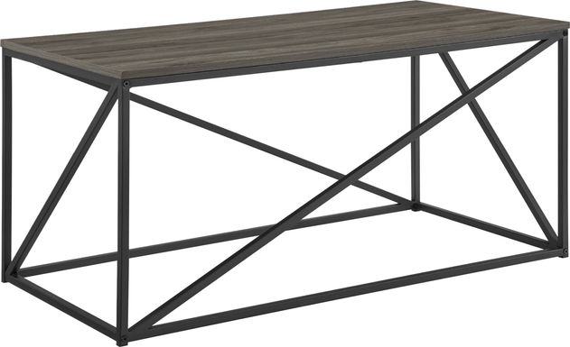 Clovercrest Gray Cocktail Table