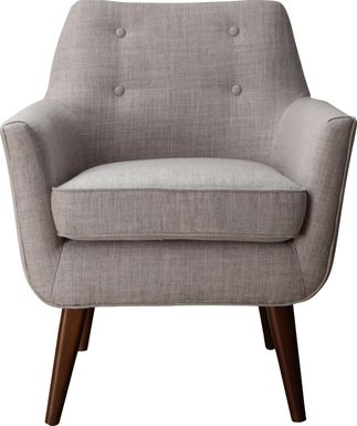 Clyde Beige Accent Chair
