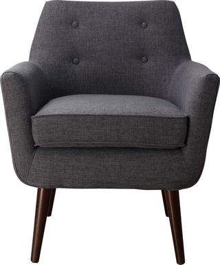 Clyde Gray Accent Chair
