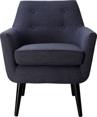 Clyde Navy Accent Chair