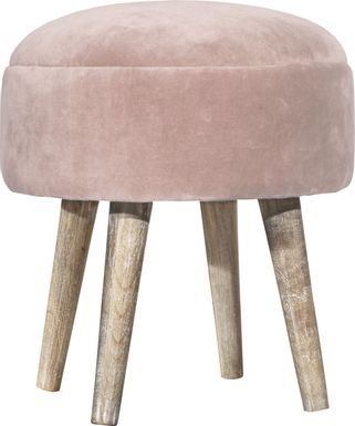 Coachlamp Pink Vanity Stool