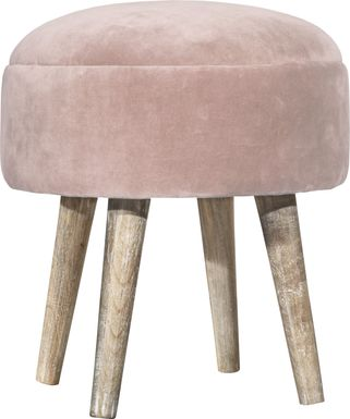 Coachlamp Pink Vanity Stool