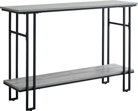 Coalville Gray Console Table