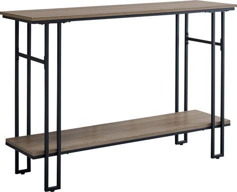 Coalville Taupe Sofa Table