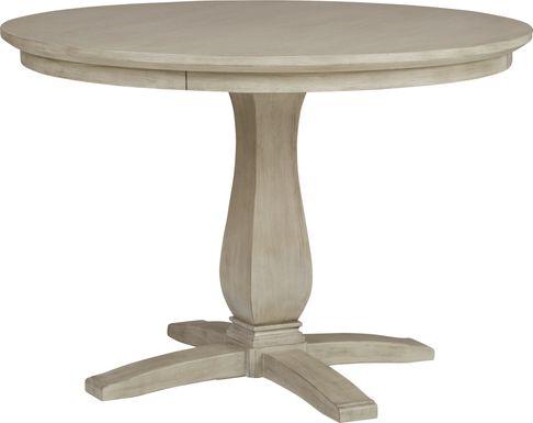 Coastline Drive Gray Round Dining Table