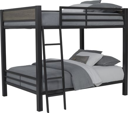 Colefax Avenue Gray Full/Full Bunk Bed