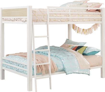 Colefax Avenue White Full/Full Bunk Bed