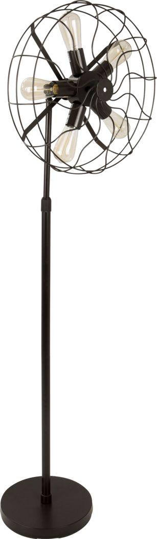 Colindale Black Floor Lamp